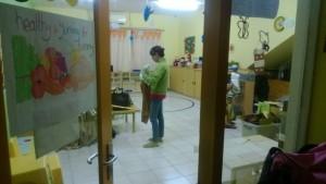 Ruang kelas Nursery